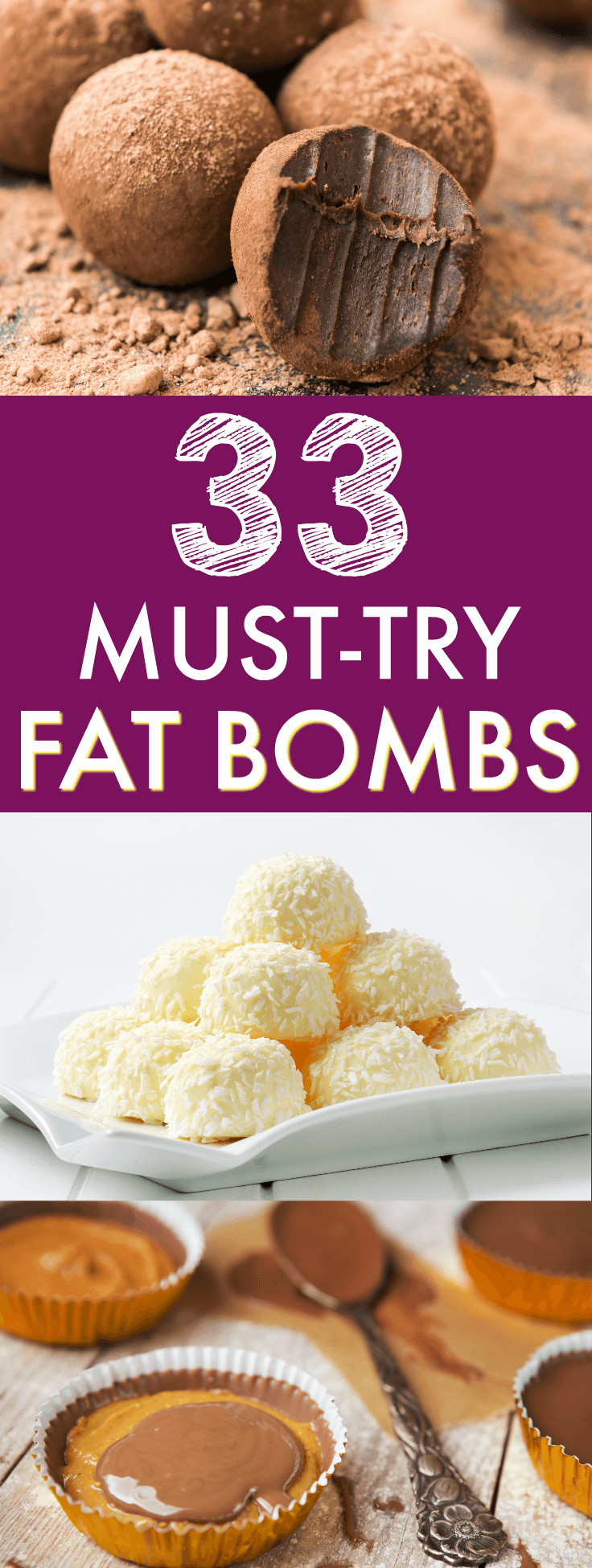 Ketosis Diet Fat Bombs  33 Delicious Fat Bombs Recipes for Keto or Low Carb Diets