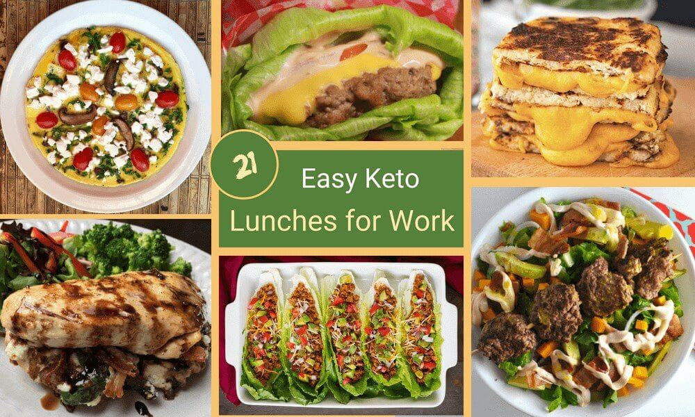 Ketosis Diet Lunch Ideas  21 Easy Keto Lunches for Work Keto Diet Lunch Ideas and