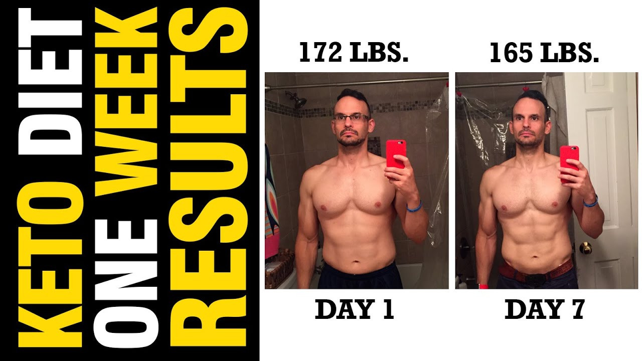 Ketosis Diet Results  Ketosis LCHF 1 Week Results & Why The Scale Is