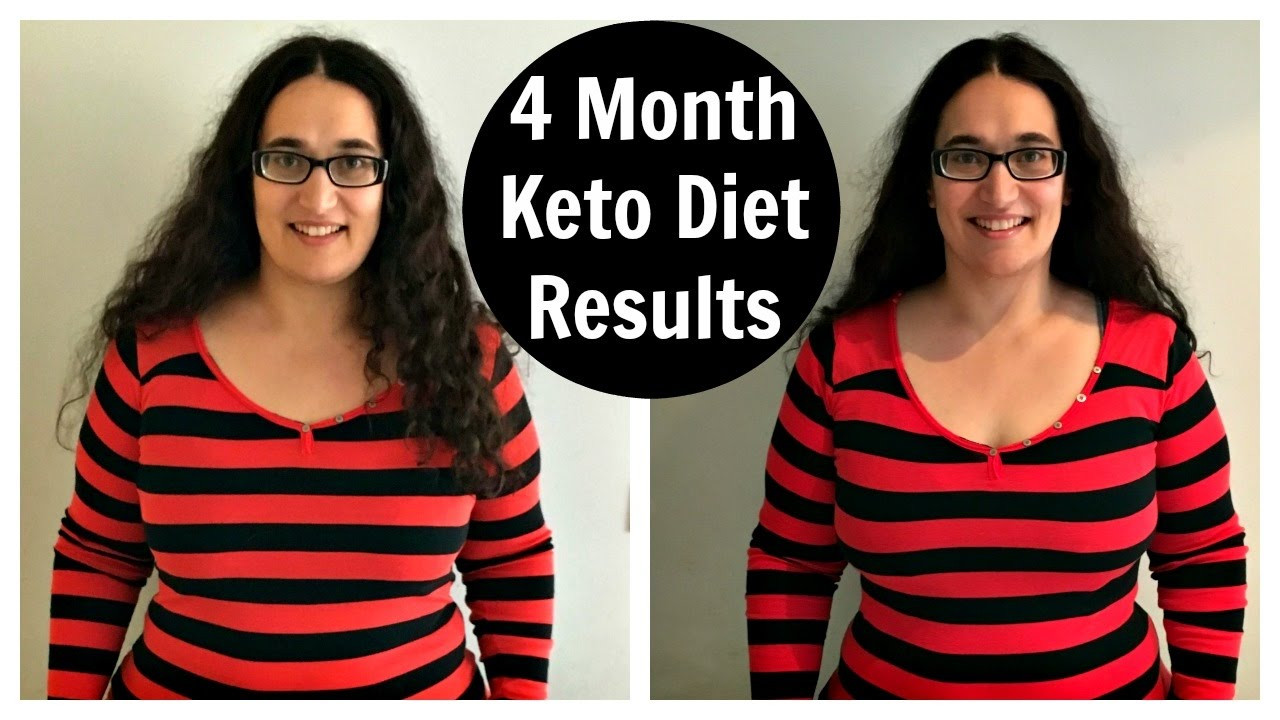 Ketosis Diet Results  4 Month Keto Diet Results Low Carb High Fat Weight Loss
