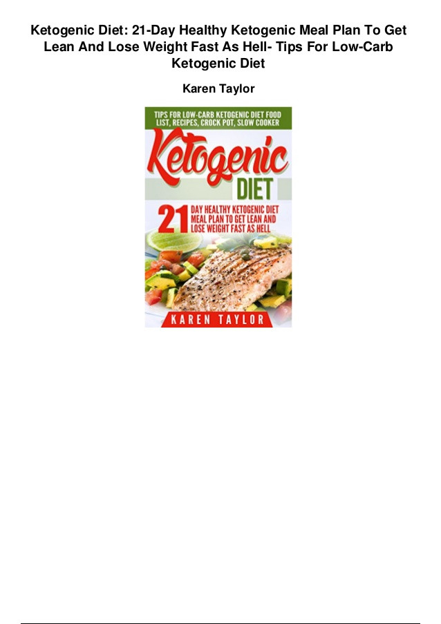 Low Carb Diet Plan 21 Days Losing Weight  Ketogenic t 21 day healthy ketogenic meal plan to