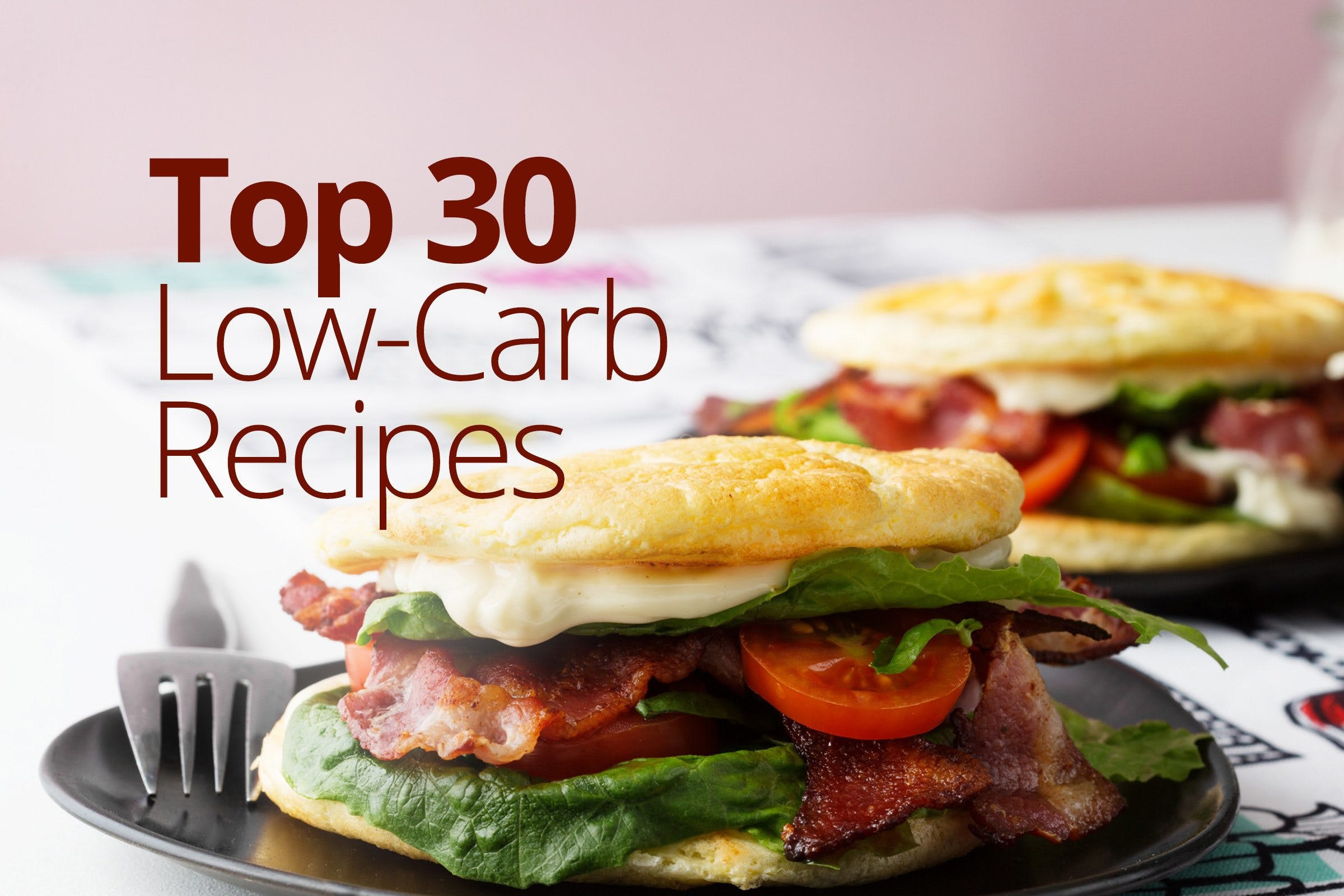 Low Carb Diet Recipes  Top 30 Low Carb Recipes Simple & Delicious Inspiration