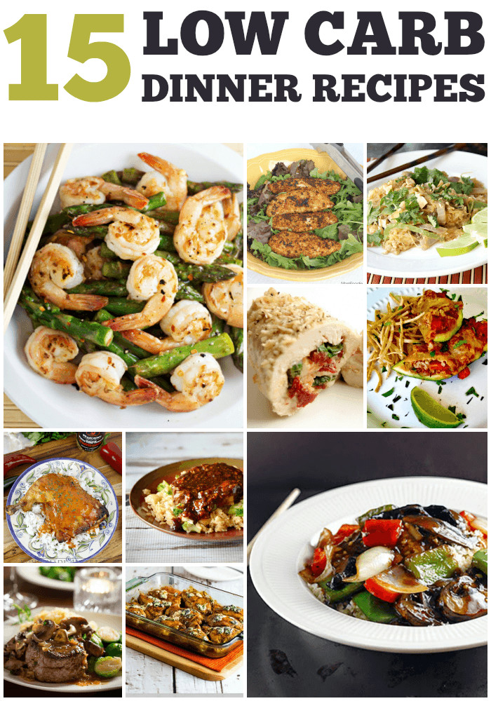 Low Carb Diet Recipes  Recipes for 15 Low Carb Dinners