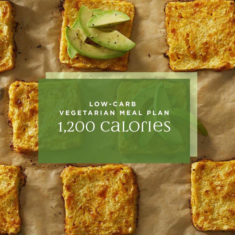 Low Carb Diet Vegetarian  3 Day Low Carb Ve arian Meal Plan 1 200 Calories