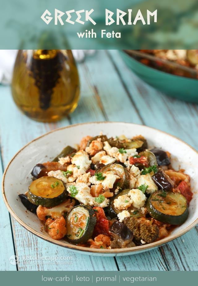 Low Carb Diet Vegetarian  Low Carb Ve arian Greek Briam