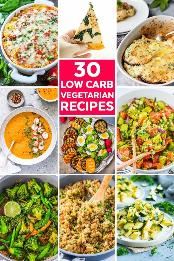 Low Carb Diet Vegetarian  30 Low Carb Ve arian Recipes Savor Savvy