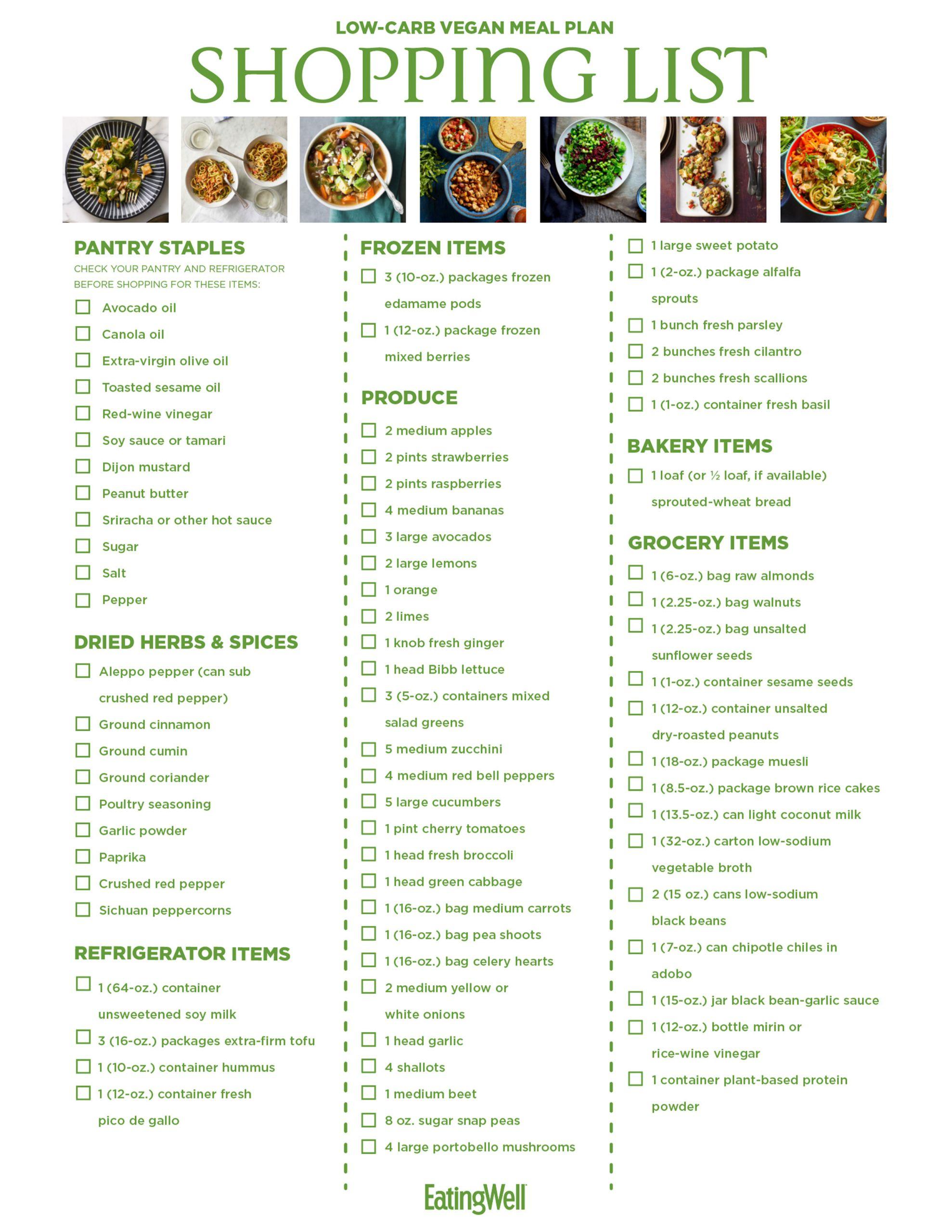 Low Carb Vegan Diet Plan  Low Carb Vegan Meal Plan 1 200 Calories