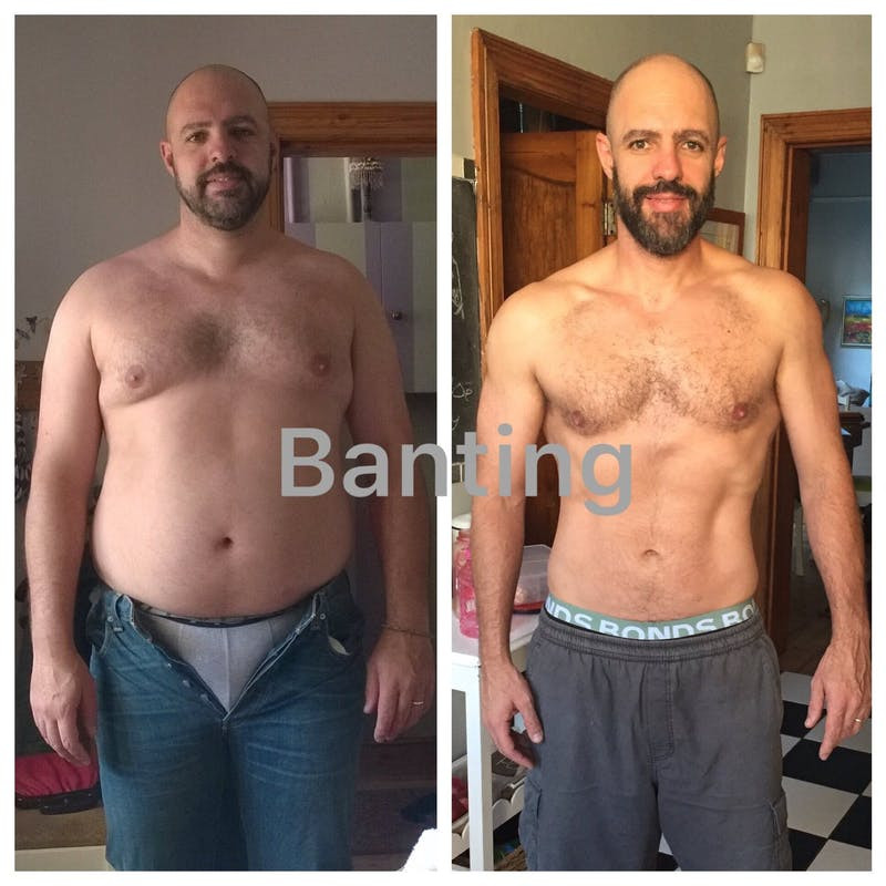 Low Fat Diet Before And After  Minus 90 pounds in 15 months on low carb Diet Doctor