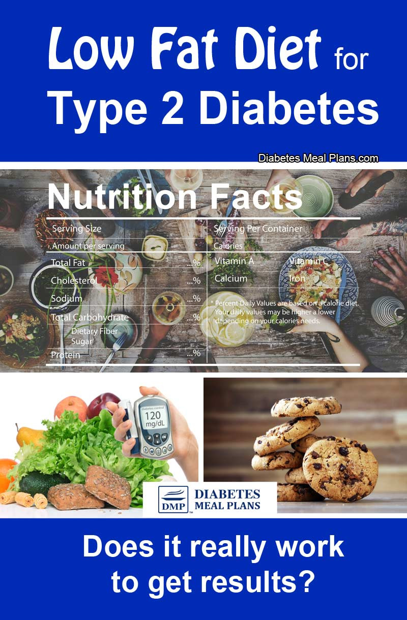 Low Fat Diet For Diabetics  Low Fat Diet For Diabetes Is It A Thing The Past