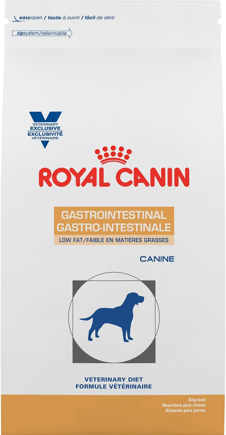 Low Fat Diet For Dogs  Royal Canin Veterinary Diet Gastrointestinal Low Fat LF