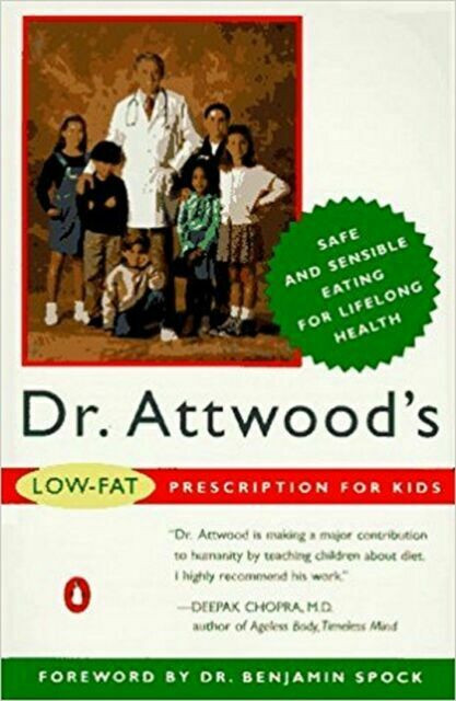 Low Fat Diet For Kids  Dr Attwood s Low fat Prescription Diet for Kids A