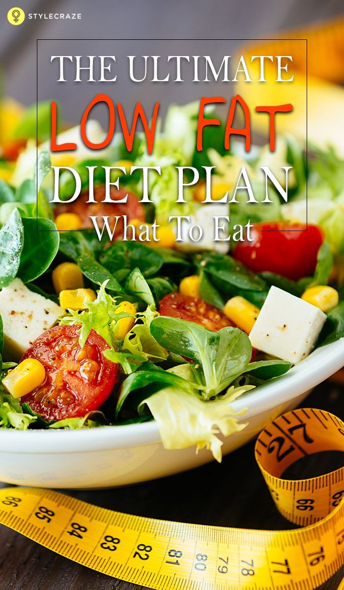 Low Fat Diet Losing Weight  Pin on Low fat ts
