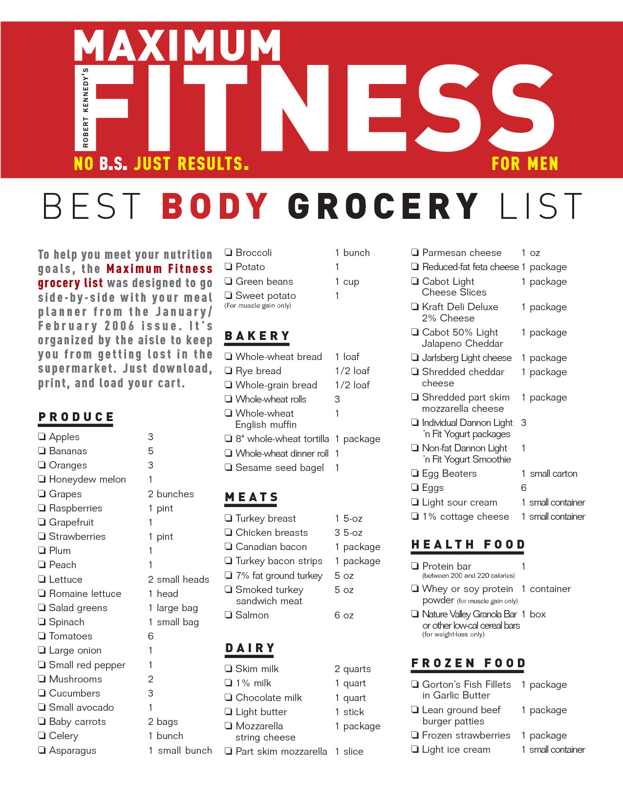 Low Fat Diet Losing Weight Food Lists  Grocery List For Weight Loss