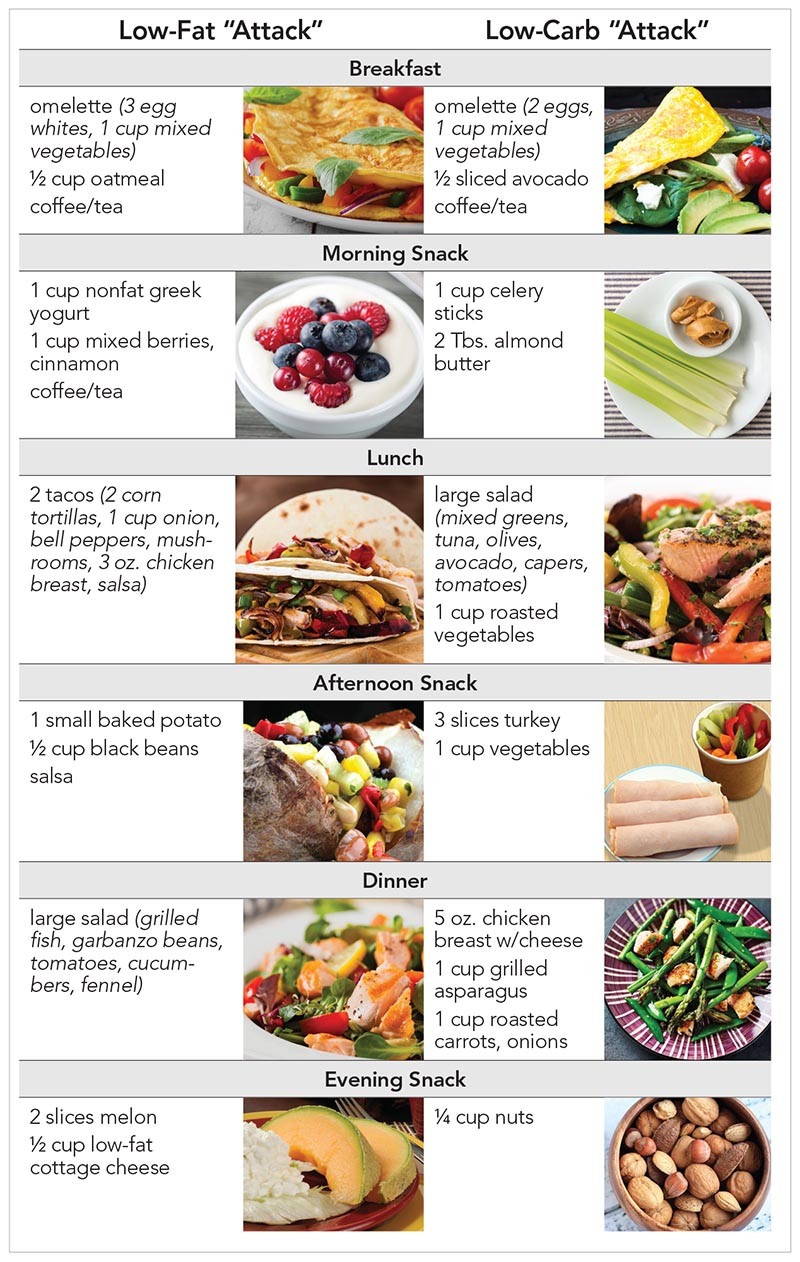 Low Fat Diet Plan Food Lists  If the Diet Fits…