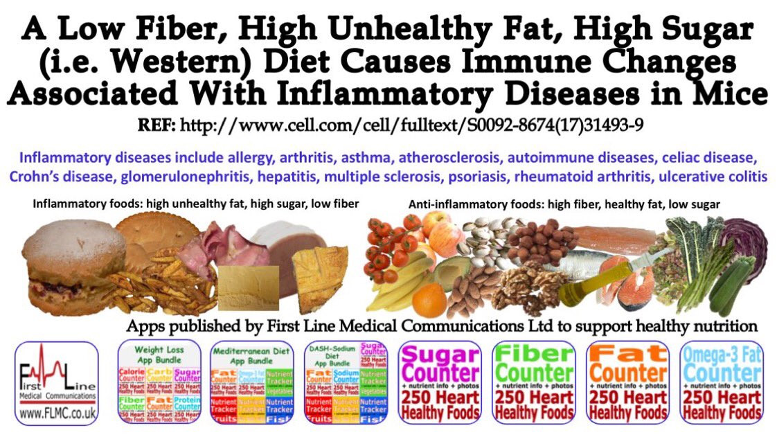 """Low Fiber Low Fat Diet  Dr Lindy van den Berghe on Twitter """" Diet therapy to"""