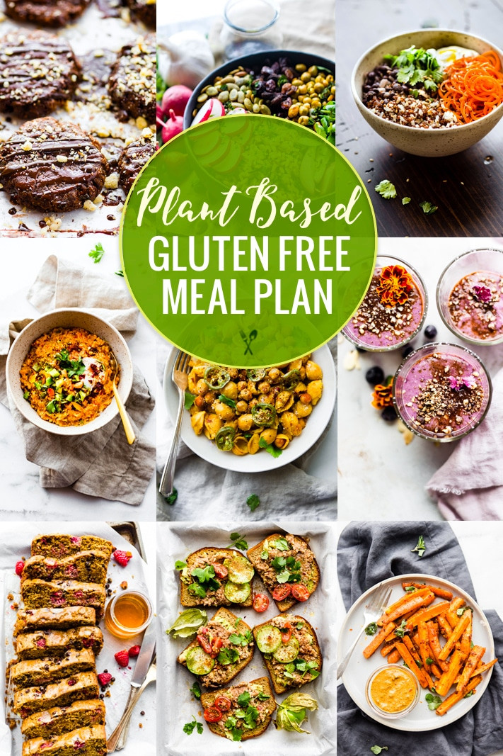 Plant Based Diet Meal Plan Recipes  Plant Based Gluten Free Meal Plan