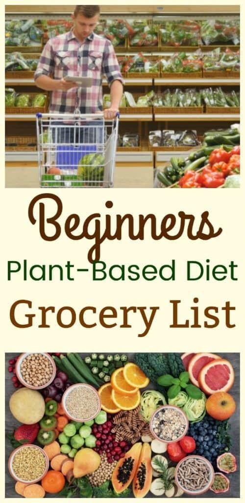 Plant Based Diet Shopping List  Beginners Plant Based Diet Grocery List