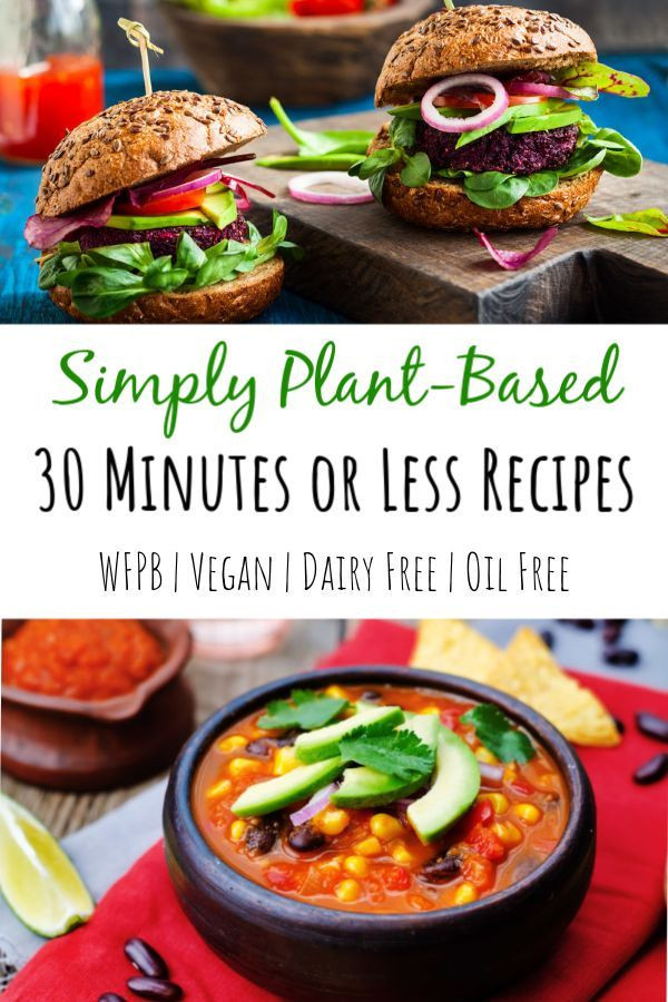 Plant Based Recipes For Beginners Kids  If you need some quick easy healthy whole food plant