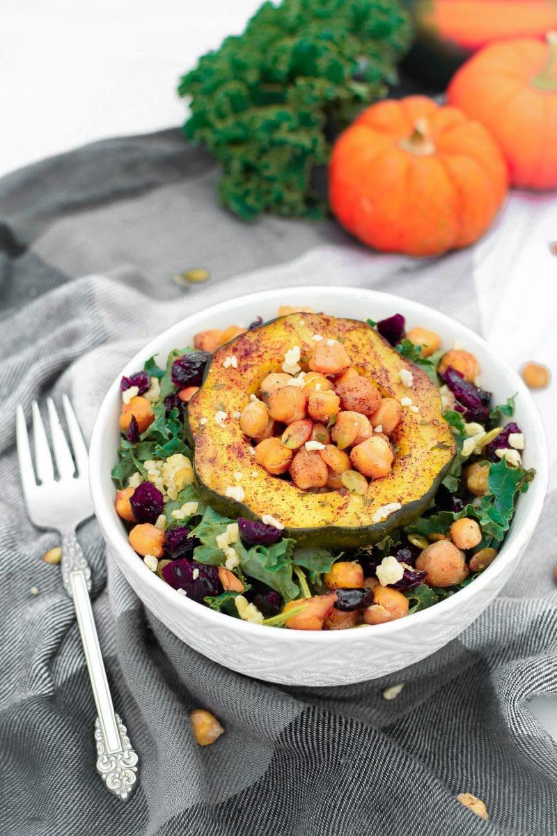 Plant Based Recipes Protein  Autumn Harvest Plant Based Protein Power Bowl Emily Kyle