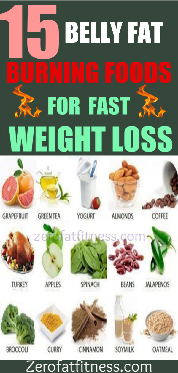 Quick Fat Burning Foods  15 Best Belly Fat Burning Foods for Fast Weight Loss