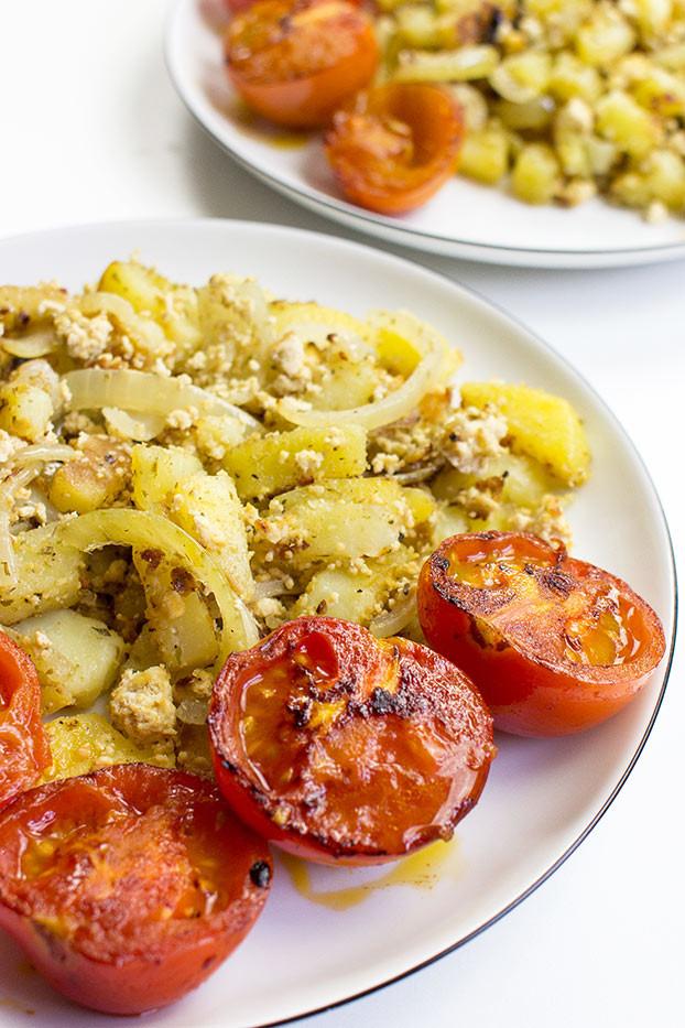 Quick Vegan Breakfast  Vegan Breakfast Potatoes Break the Fast