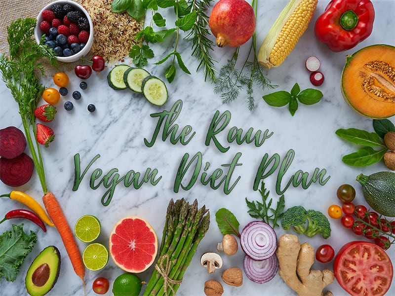 Raw Vegan Plan  Curious About A Raw Vegan Diet Plan For Weight Loss Is It