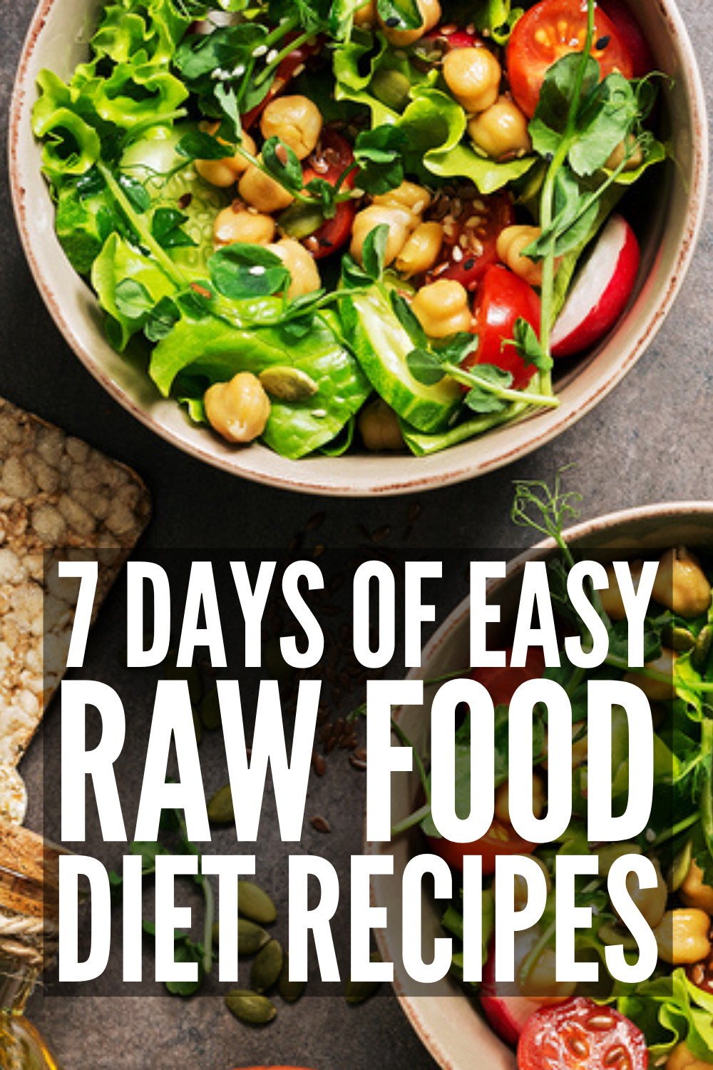 Raw Vegan Plan  The Raw Food Diet 7 Day Meal Plan for Beginners