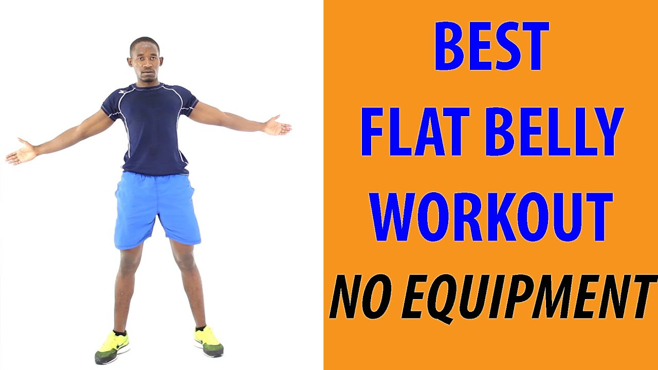 Standing Fat Burning Workout  The Best Flat Belly Workout No Equipment