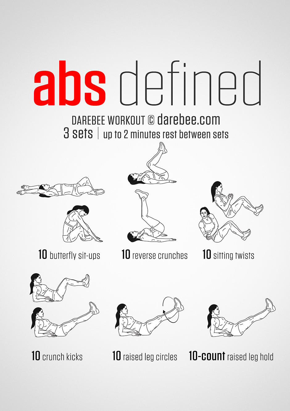Standing Fat Burning Workout  20 Stomach Fat Burning Ab Workouts From NeilaRey