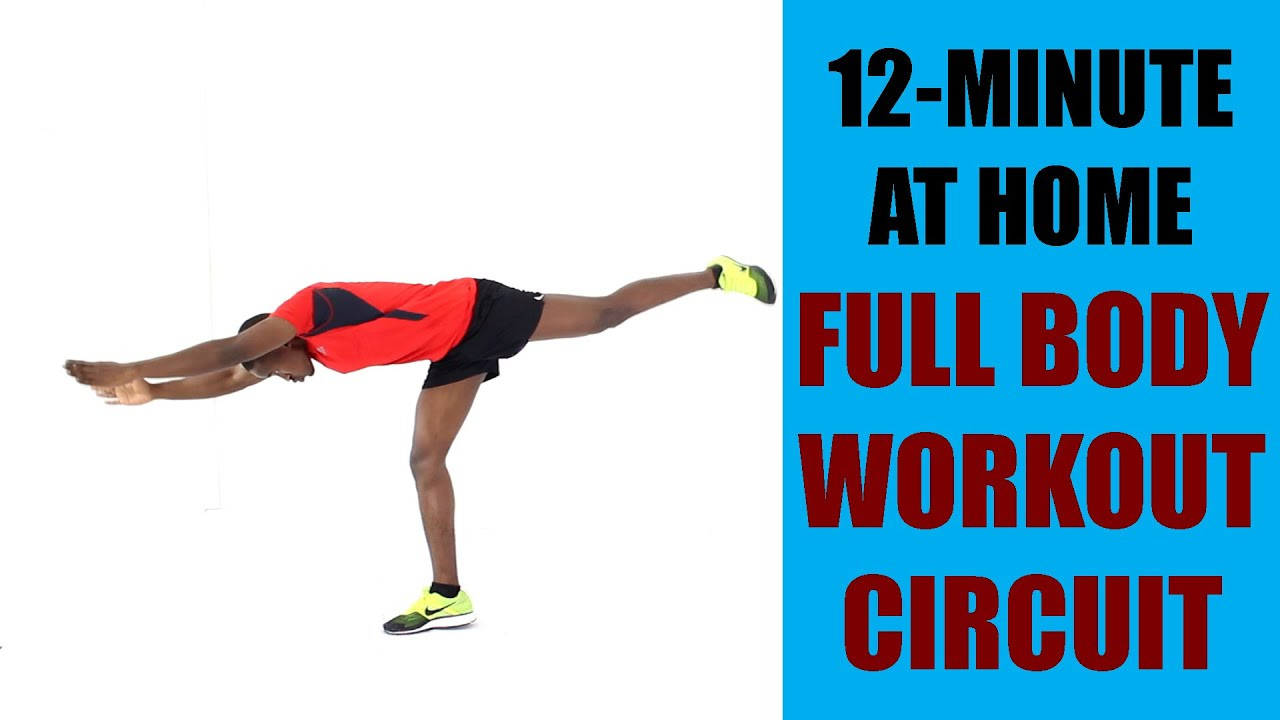 Standing Fat Burning Workout  12 Minute At home Full Body Workout Circuit