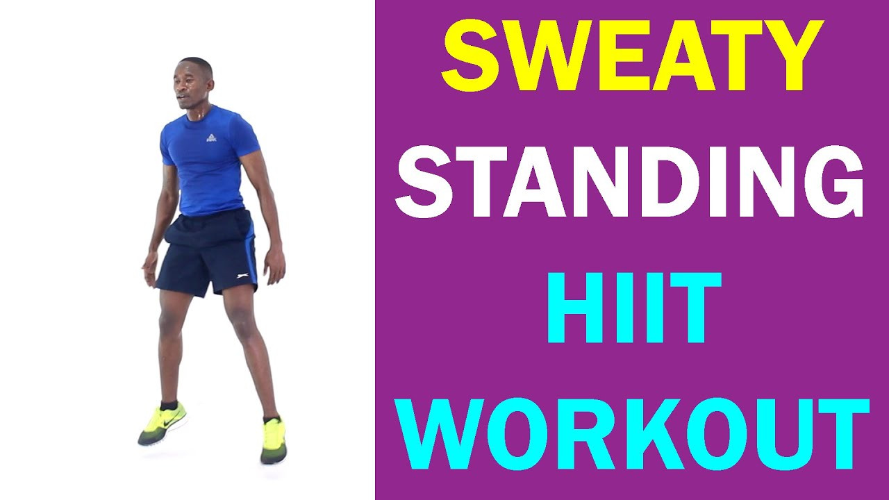 Standing Fat Burning Workout  Standing HIIT Workout to Make You Sweat and Burn Fat 18
