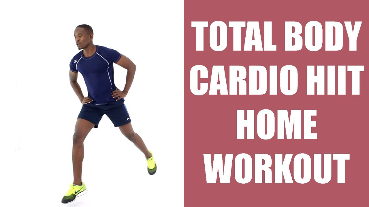 Standing Fat Burning Workout  Total Body Cardio HIIT Home Workout