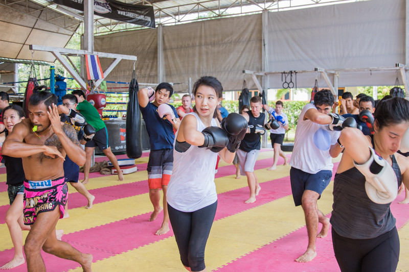Thai Weight Loss Exercise  A new wonderful experience with Muay Thai training for