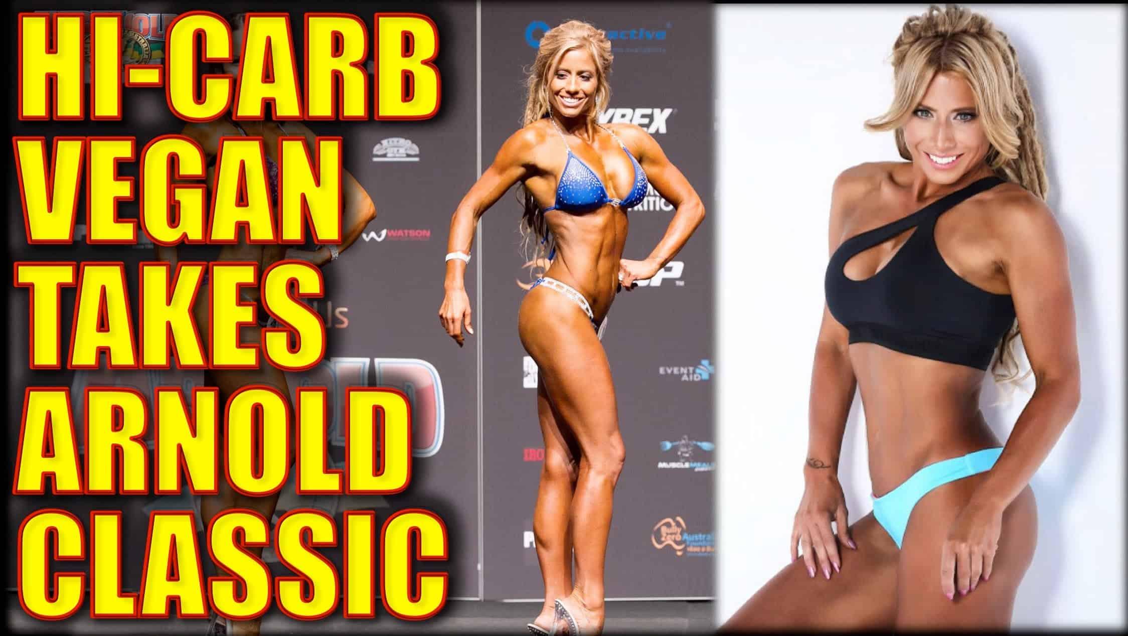 Vegan Bodybuilding Diet Women  Vegan Fitness Model Wins Arnold Classic At 42