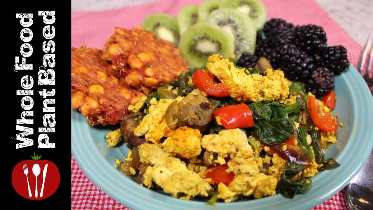 Vegan Breakfast Ideas Plant Based  High Protein Plant Based Vegan Breakfast 2018 Whole Food