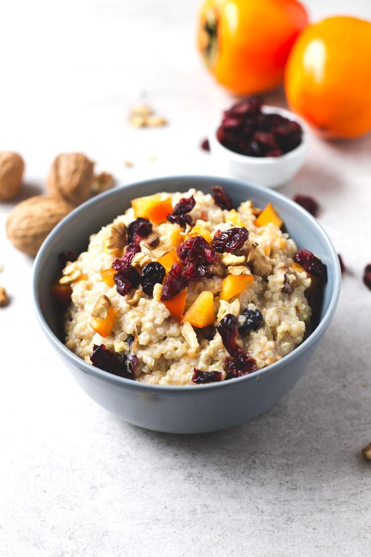Vegan Breakfast  Vegan Breakfast Quinoa Bowl Simple Vegan Blog