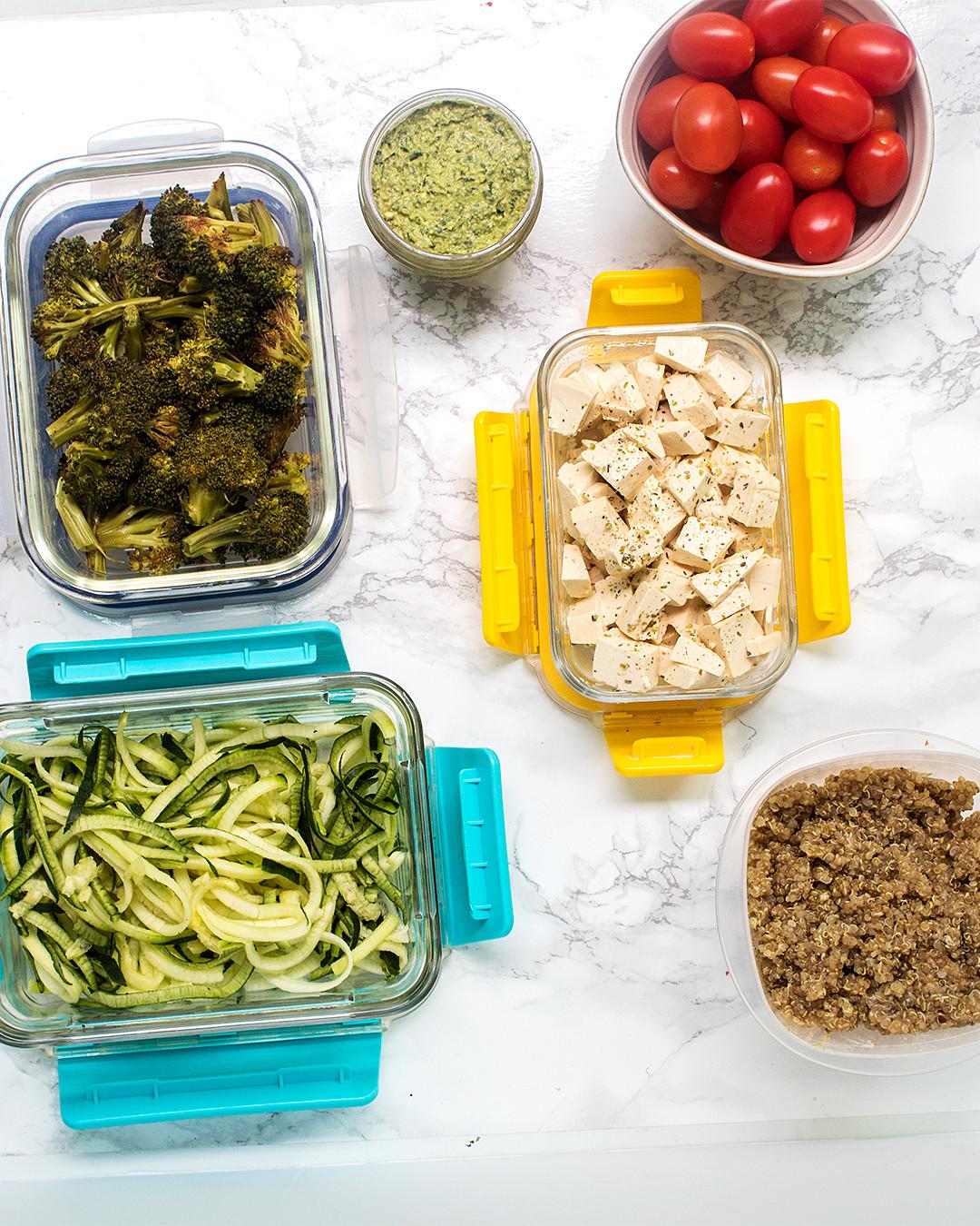 Vegan Breakfast Meal Prep For The Week  1 Week Vegan Meal Prep 20 Minutes 5 different meals