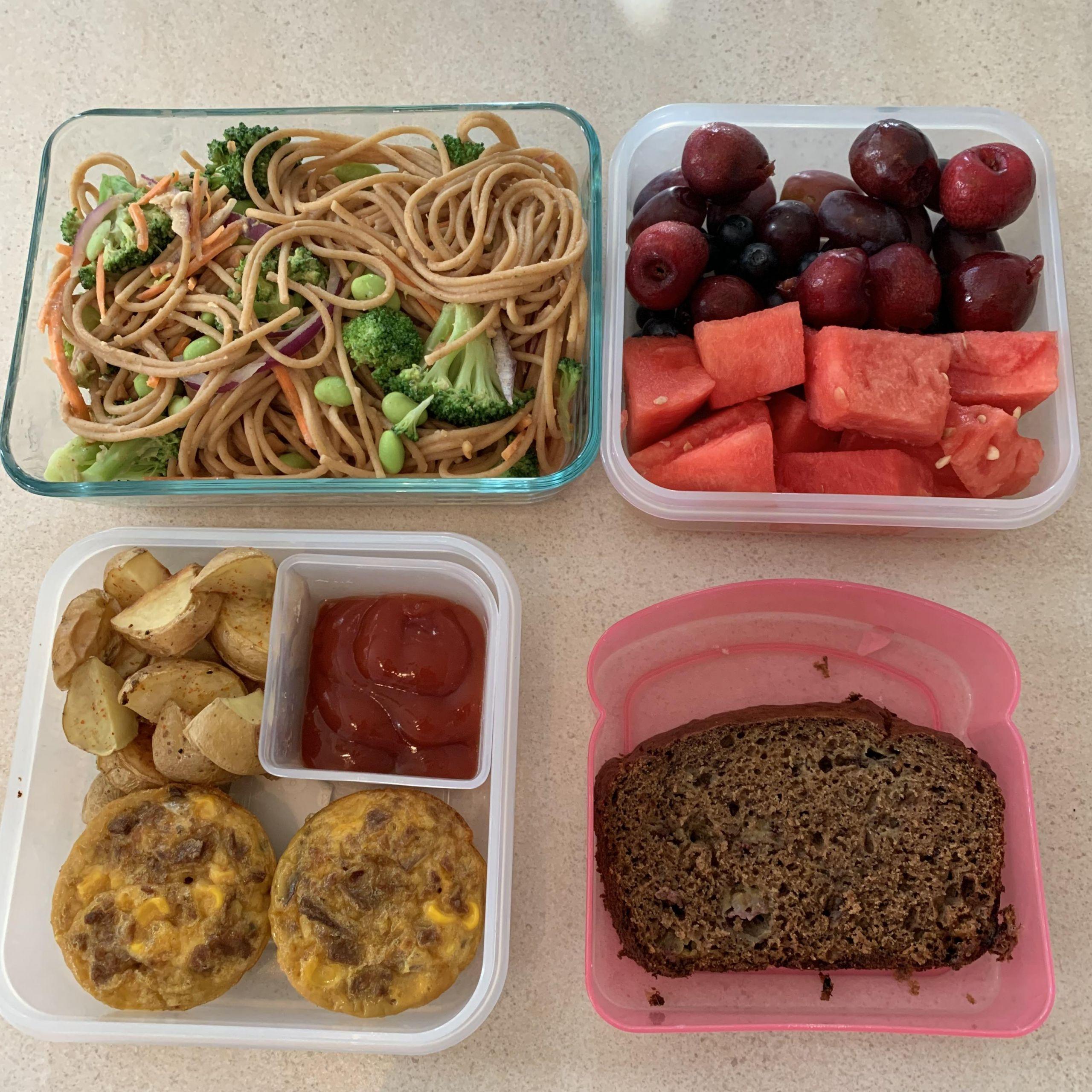 Vegan Breakfast Meal Prep For The Week  Ve arian meal prep Breakfast lunch and snacks for the