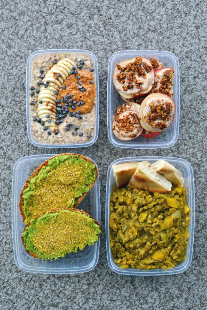 Vegan Breakfast Meal Prep For The Week  Vegan Meal Prep