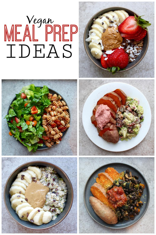 Vegan Breakfast Meal Prep For The Week  What I Ate This Week Vegan Meal Prep Ideas