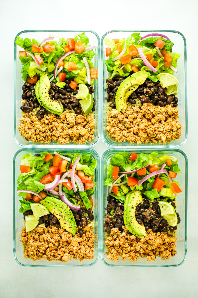 Vegan Breakfast Meal Prep For The Week  23 Vegan Meal Prep Recipes from The Fitchen