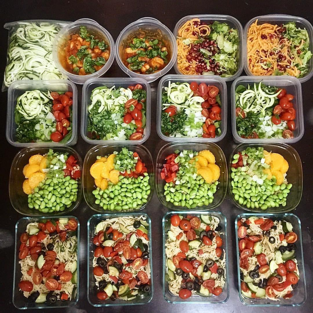 Vegan Breakfast Meal Prep For The Week  Pin on HEALTHY EATING