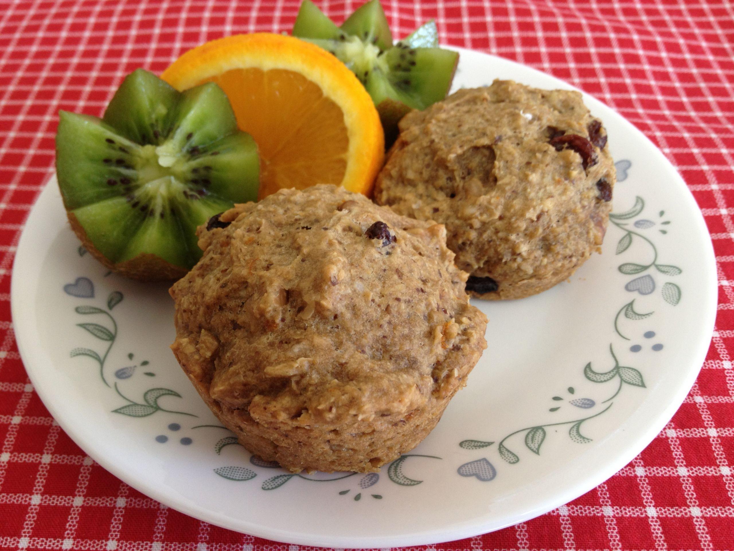 Vegan Breakfast Muffins  Vegan Breakfast Muffins