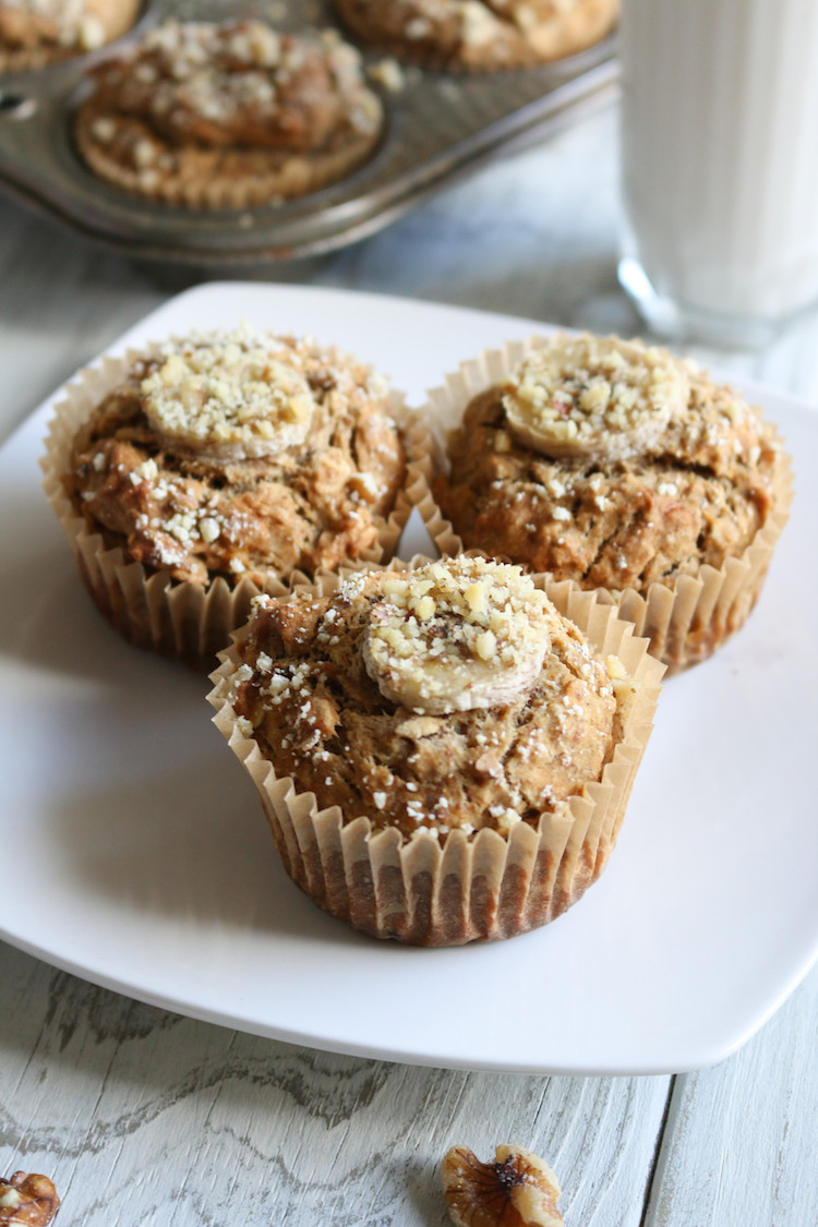 Vegan Breakfast Muffins  Vegan Gluten Free Banana Breakfast Muffins Live Simply