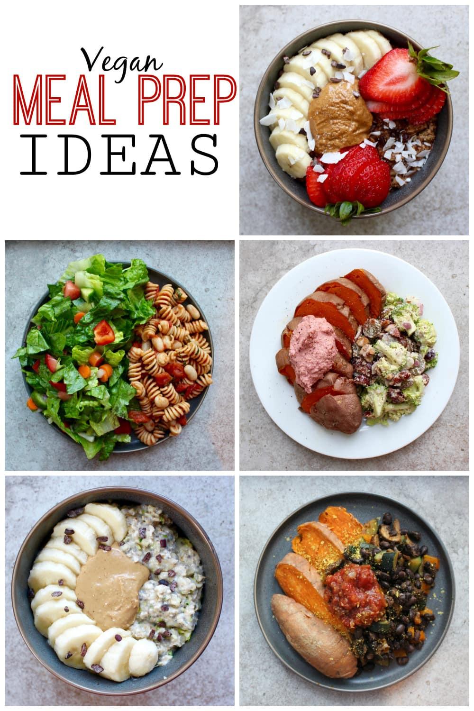 Vegan Breakfast Prep  What I Ate This Week Vegan Meal Prep Ideas