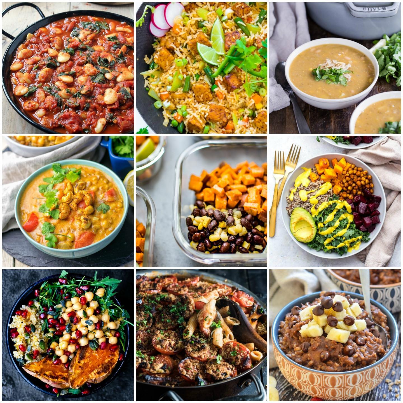 Vegan Breakfast Prep  30 Delicious Vegan Meal Prep Recipes Breakfast Lunch