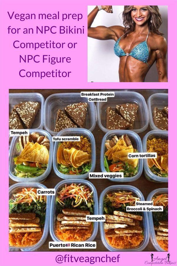 Vegan Diet Plan For Athletes  Vegan Bikini petitor in 2019