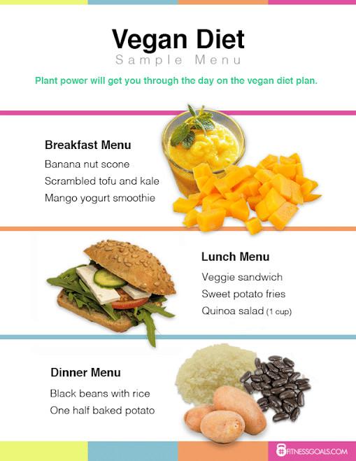 Vegan Diet Plan For Weight Loss  Vegan Diet Plan See Ve arian Weight Loss Results