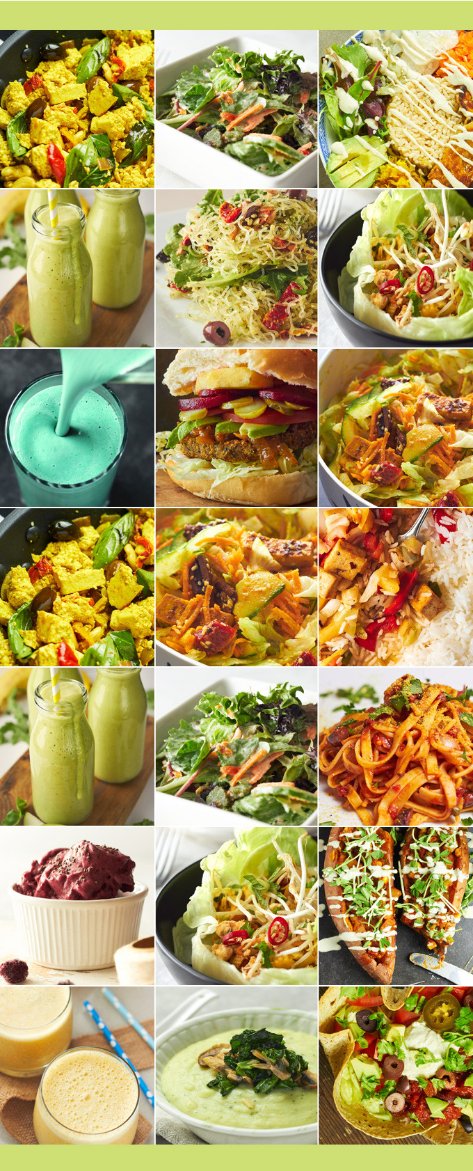 Vegan Plan Meal  Vegan Meal Plan A Week of Healthy Menus