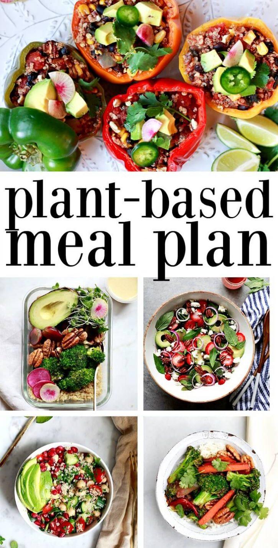 Vegan Plan Meal  Vegan Weekly Meal Plan Ve arian Gluten Free Vegan